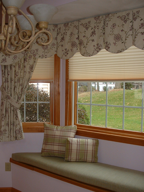 Bay Window Seat Treatments